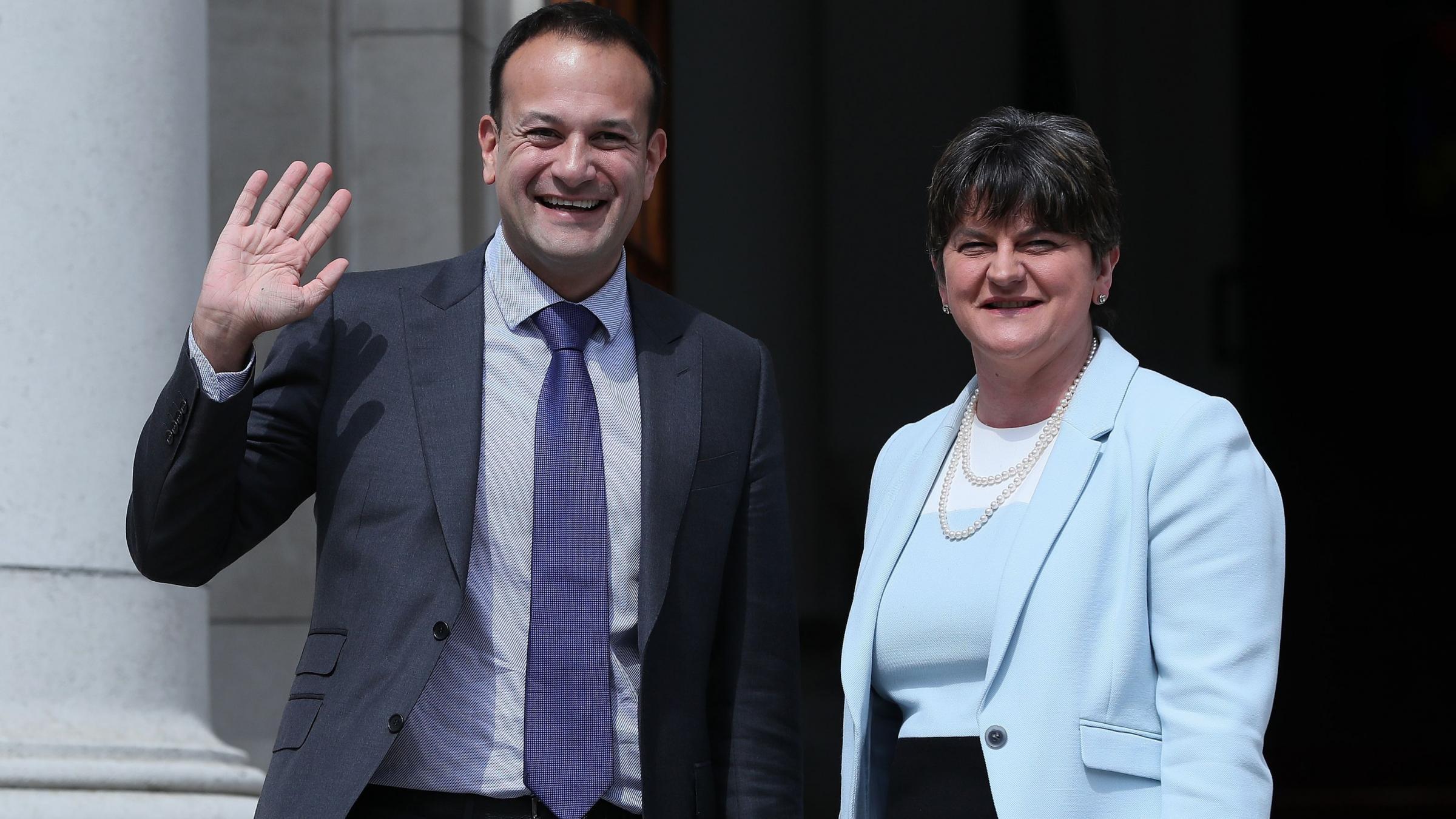 Northern Ireland politics hits PM May's coalition talks